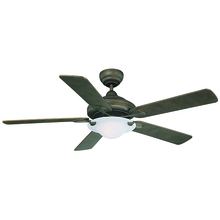"Canarm NOUVEAU ORB - The 52"" Nouveau ORB ceiling fan has a fresh clean design and features Oil Rubbed Bronze finish,"
